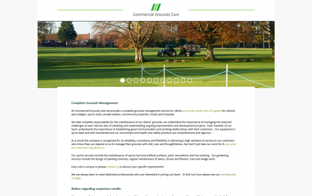 Commercial Grounds Care
