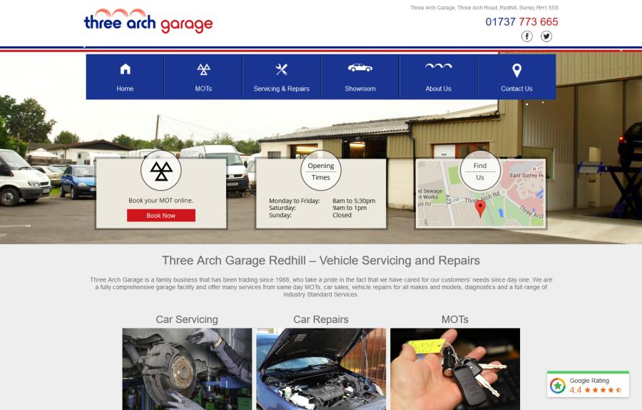 Three Arch Garage